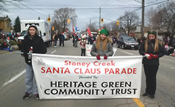 20165Santa Clause Parade